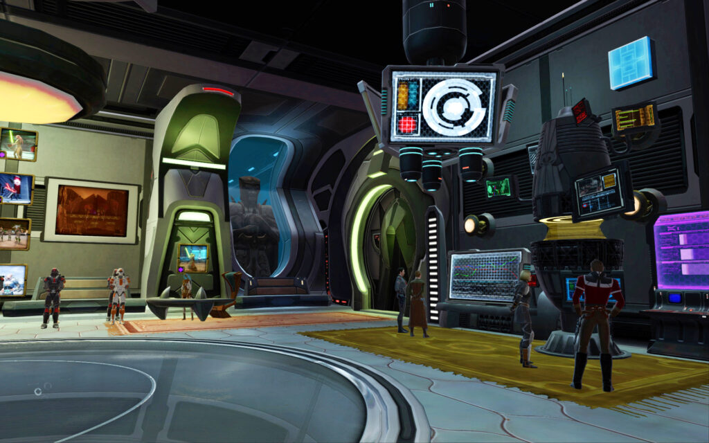 Underwater Observatory Room 1: My Alliance Intelligence Office