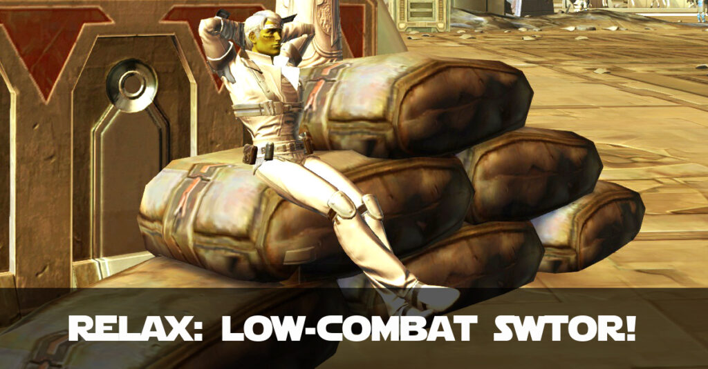 14 Ways to Enjoy SWTOR With Little or No Combat