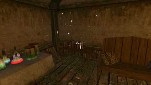 Waling in the Haunted Burrow Quest: Candle in the Creeping Wing