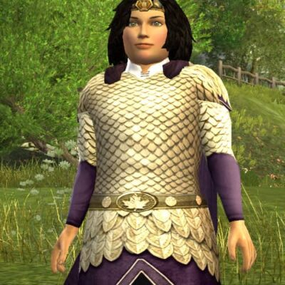 Autumn Leafmail Hauberk Cosmetic (Twilight Purple Dye) - LOTRO