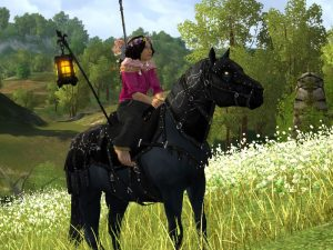 Harbinger of Autumn Night - LOTRO Fall Festival 2018 Steed
