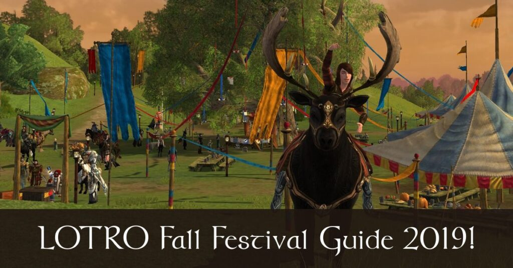 LOTRO Fall Festival Guide 2020 - Harvestmath Rewards and Quest Guide