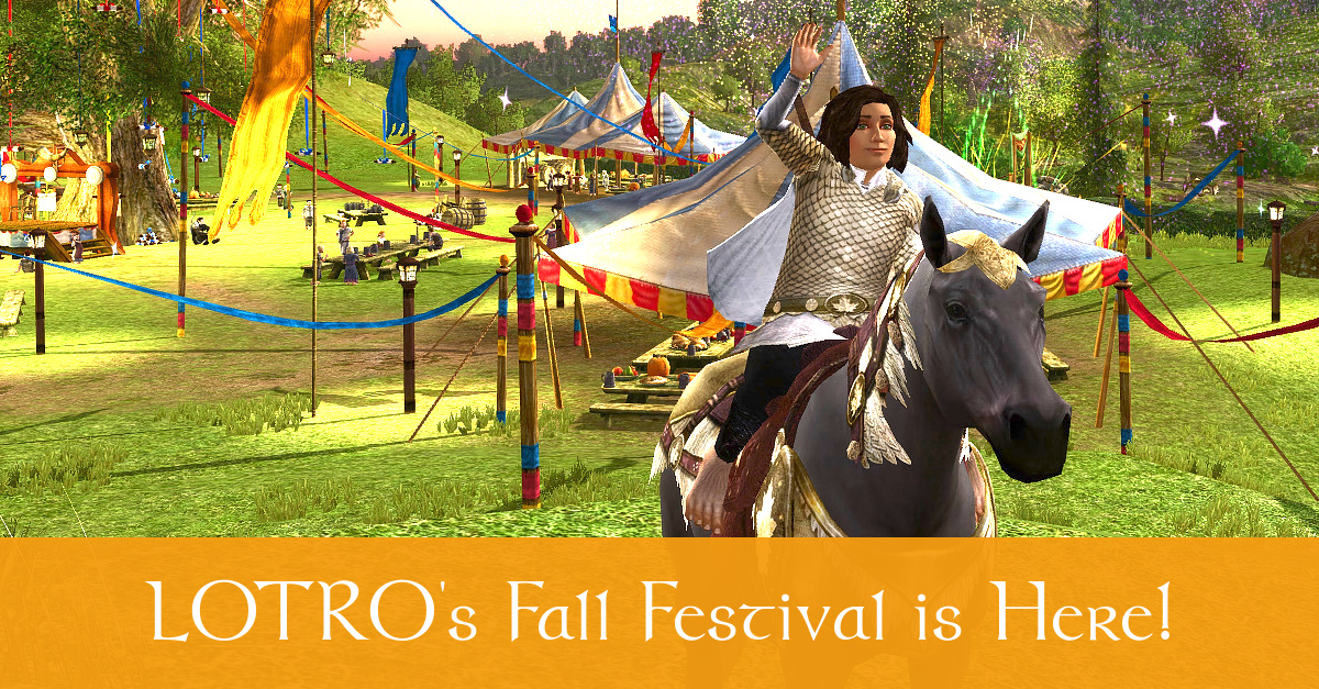 LOTRO Fall Festival 2019 Guide - Celebrate Harvestmath in
