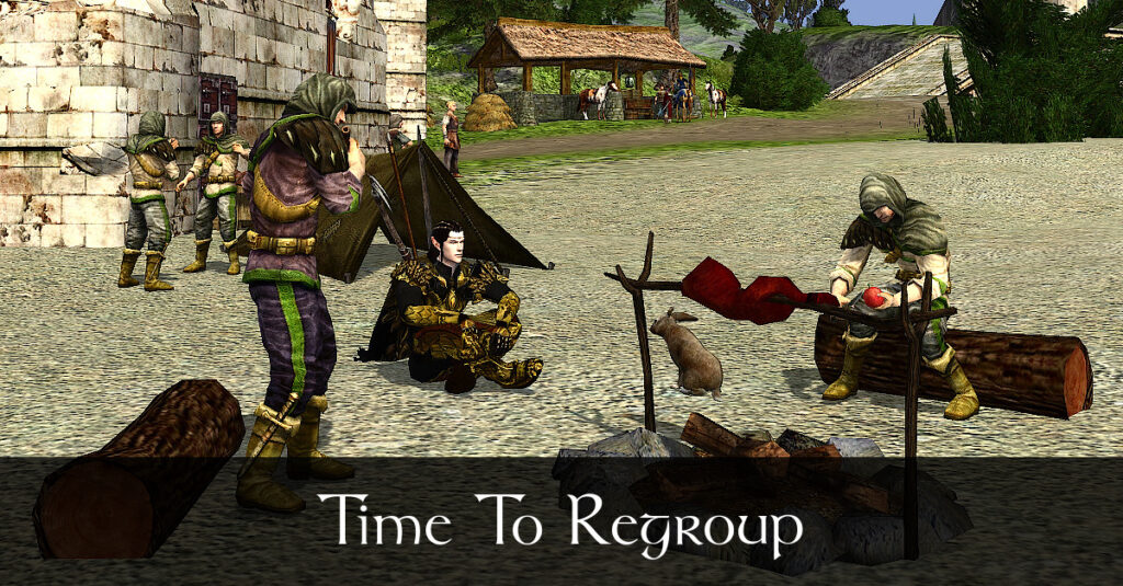 Caethir - Time to Regroup - LOTRO Fan Fiction in Evendim