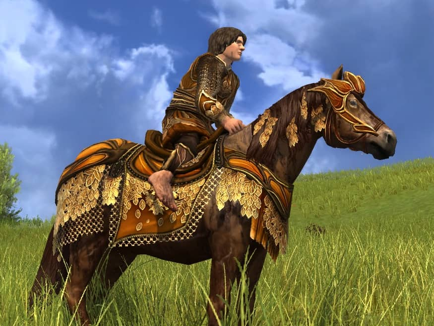 Steed of the Autumn Sage - LOTRO Fall Festival Horse Mount 2020