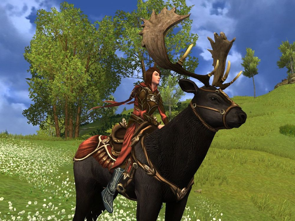 Steed of the Autumn Traveller - Elk Mount for LOTRO Fall Festival 2019