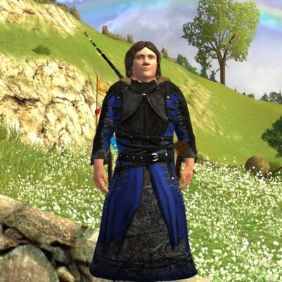 Travelling Robes of the Autumn Wanderer LOTRO Cosmetic