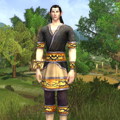 Tunic and Trousers of Autumn Nights