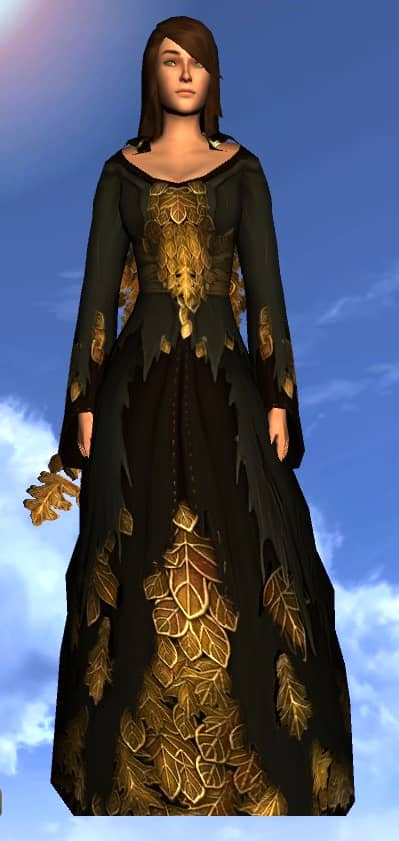 Vestments of the Autumn Sage - Dress Cosmetic for 2020