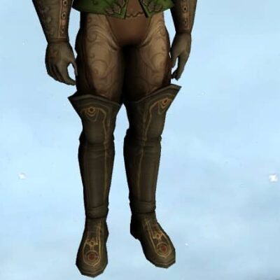 Gala-Worthy Trousers and Boots - Lower Body Cosmetic