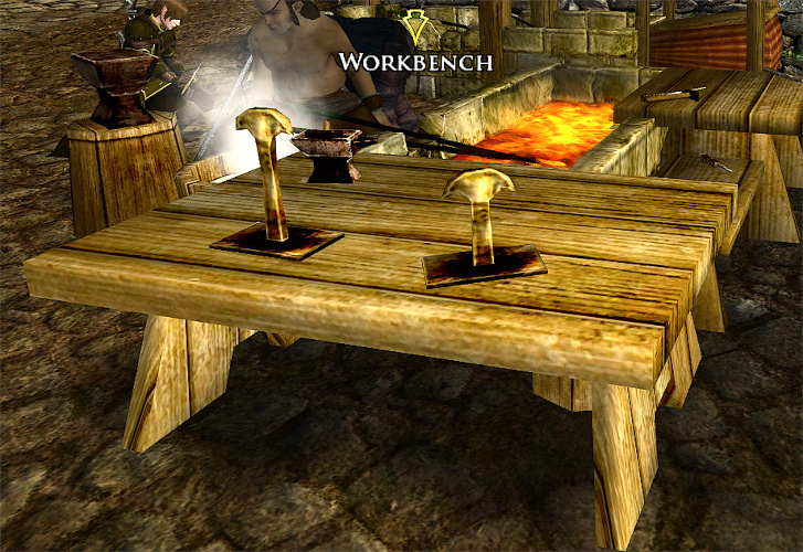 Crafting Facilities: Workbench