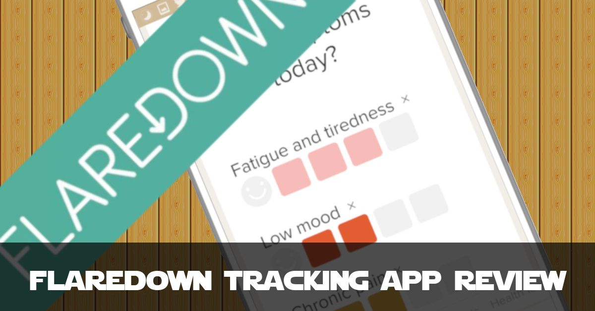 FlareDown Review - Free Chronic Illness Tracking App Features