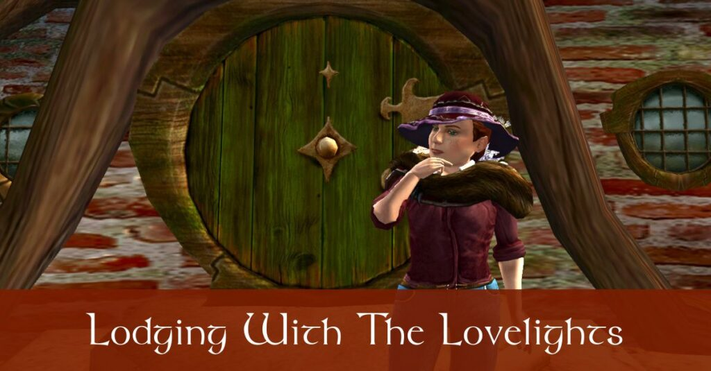 Lodging With the Lovelights – Caethir – LOTRO FanFiction