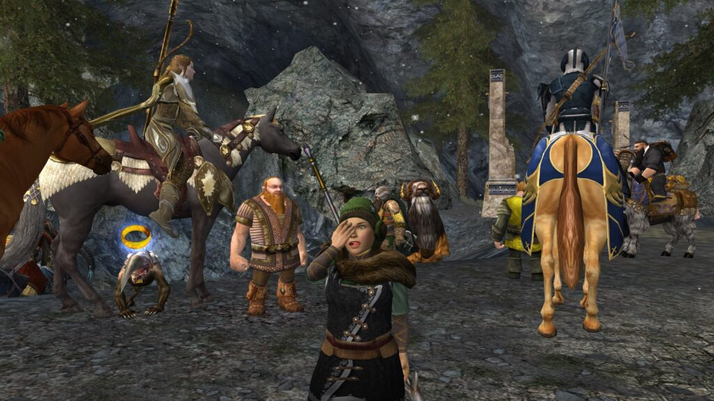Etiquette at the event, please be nice to other LOTRO players