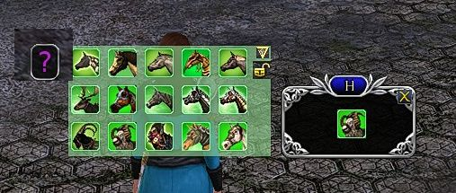 The Horsey Mount Toolbar Plugin for LOTRO