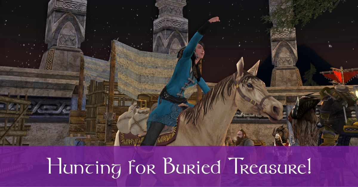 LOTRO Buried Treasure Event Guide - Treasure-Hunting Quests & Tips