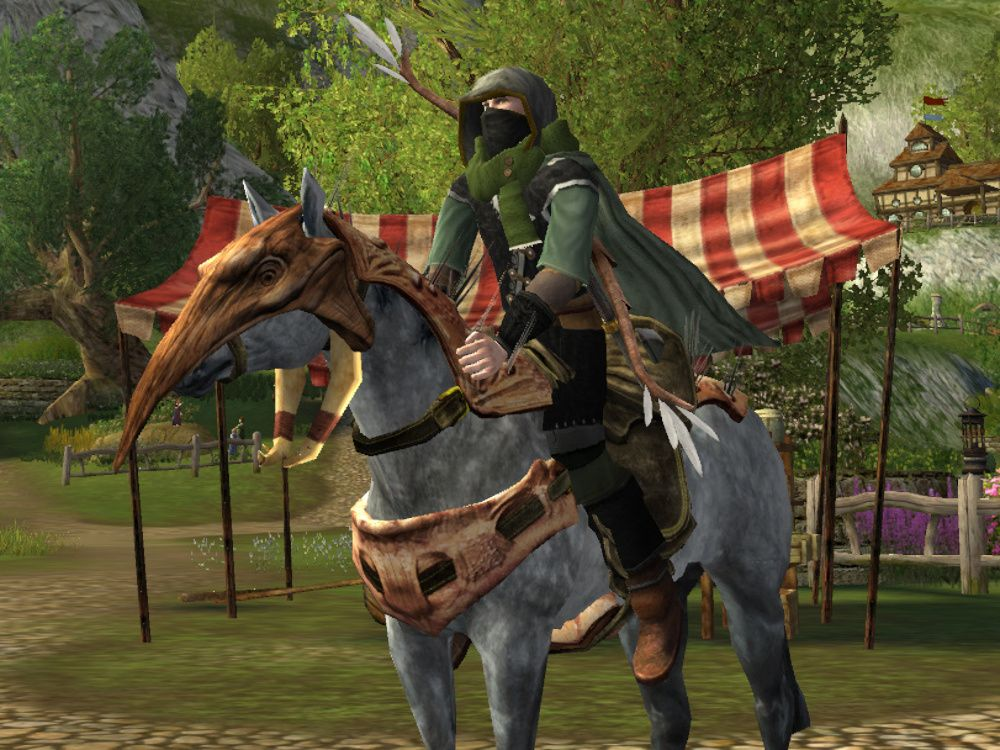 LOTRO Cave-claw Masked Horse / Steed from the Buried Treasure Event