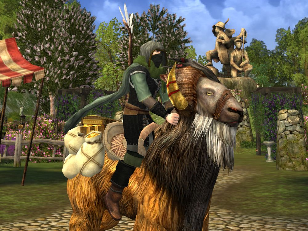 Treasure-laden Goat Mount drops from Caches