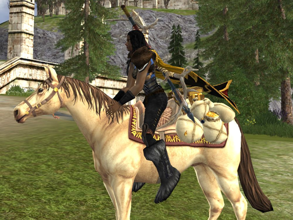 Treasure-laden Horse Mount drops from Caches