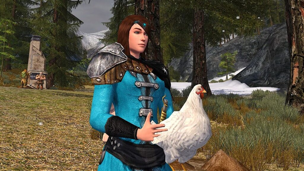 White Carrying Chicken (Consumable)