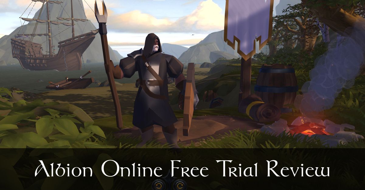 Albion Online MMO - 7 Day Free Trial Review - Fibro Jedi