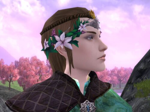 Simbelmyne Circlet, Head Cosmetic from Spring Fest