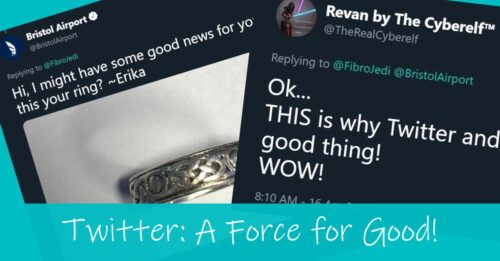 Social Media is a force for good! A story about a lost wedding ring.