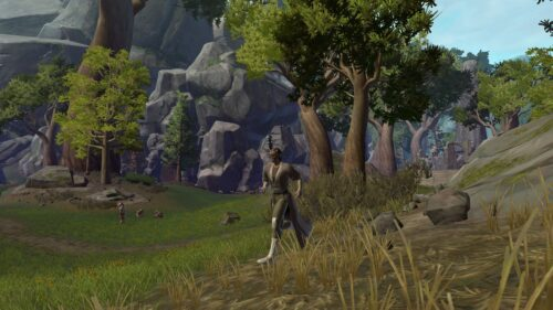 Sprint Unlocks at Level 10 for SWTOR Free-to-Play Accounts