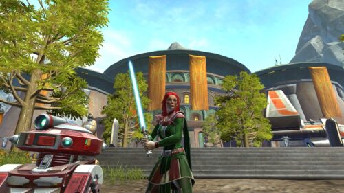 Designing Mara Jade's Green Outfit in SWTOR