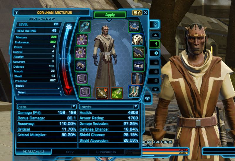 On my SWTOR F2P Account I'm half way to level cap on Taris