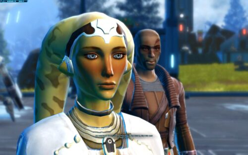 My most well-known female SWTOR Character - Twi'lek Sith Healer, Talitha'koum
