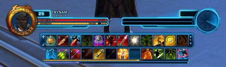 SWTOR Free-to-Play gamers only get two quickbars for free