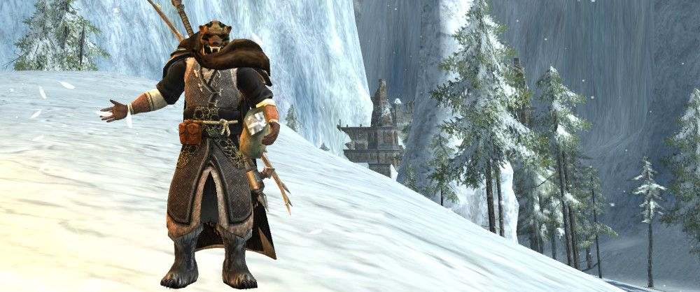 Winter Survivor - LOTRO Beorning Outfit