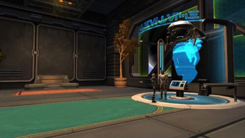 SWTOR Character Appearance Modification Station on Fleet