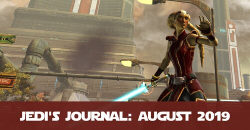 Jedi's Journal Edition 2 - August 2019 - New and Updated Blog Posts Overview