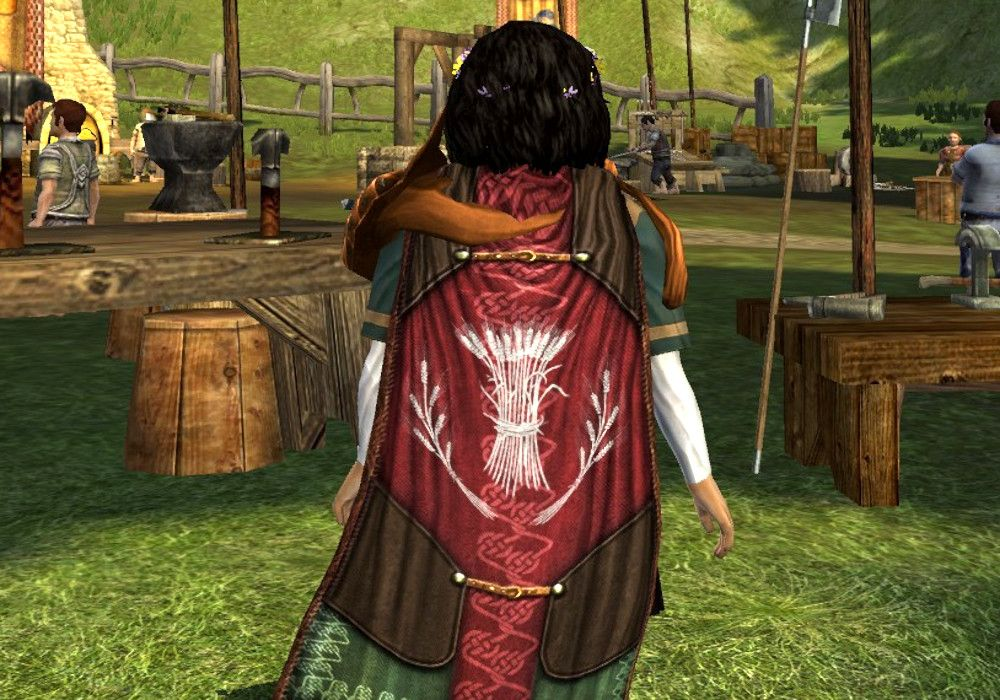 Fastred's Fine Cloak - LOTRO Back Cosmetics - Dyed Walnut Brown