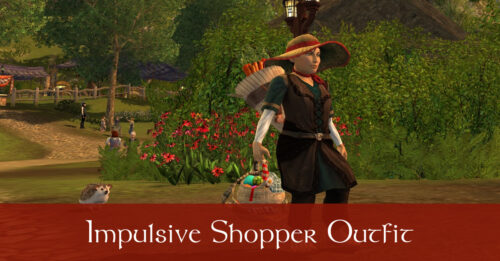 The Impulsive Shopper - LOTRO OUtfit Idea from Farmer's Faire Token Rewards Only