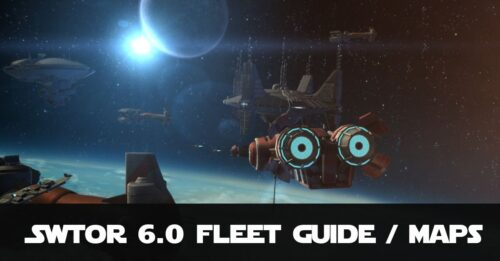 SWTOR Beginners Guide to Imperial and Republic Fleet, Services and Vendors. Includes Maps! Updated for Patch 6.0.