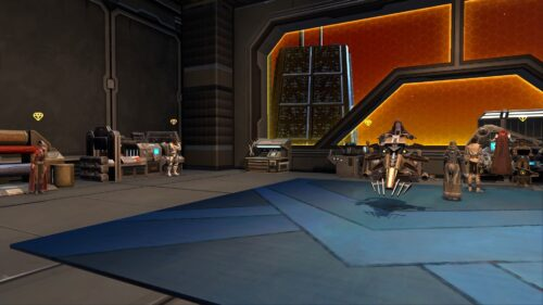 Crafting Trainers on Fleet in SWTOR