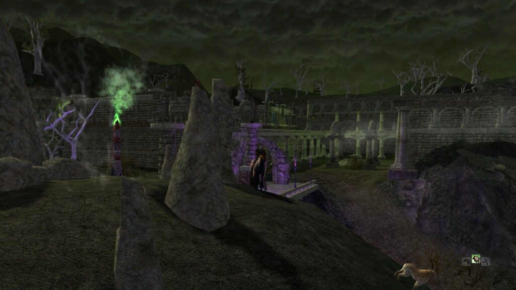 Tham Lorn - Western Ruins - North Downs Exploration Deeds - LOTRO