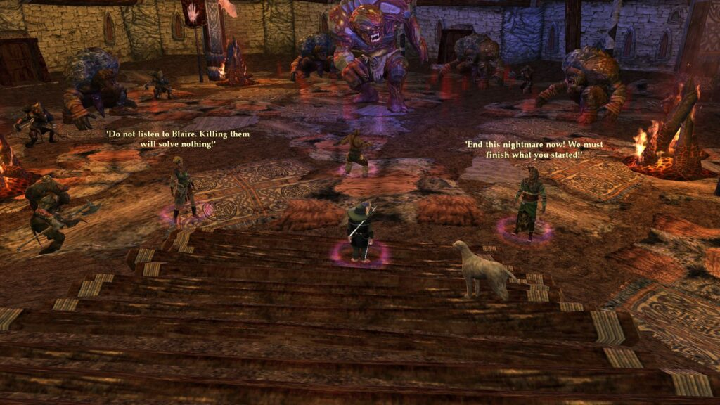 Choice in LOTRO: Kill the Dunlending Abominations, or make peace with them?