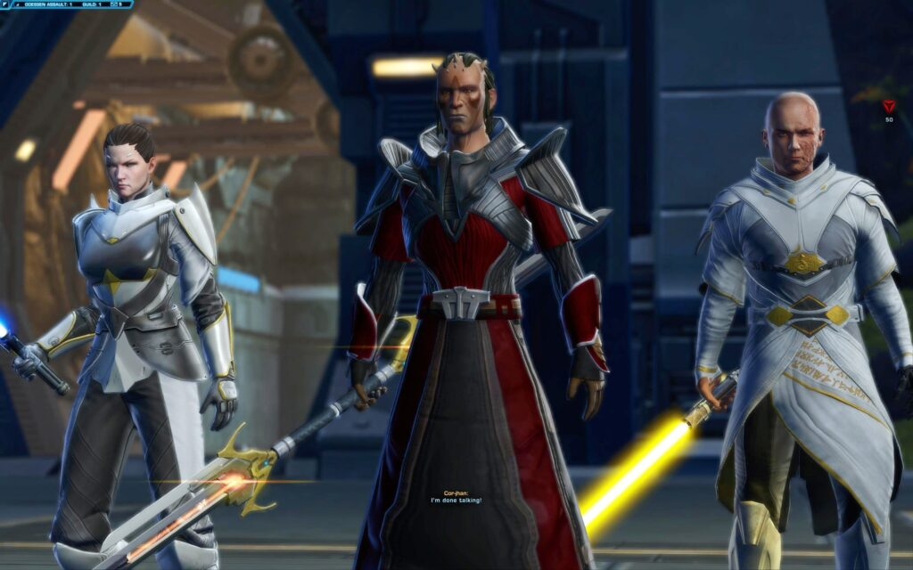 Fighting with other NPCs in SWTOR's Knights of the Eternal Throne