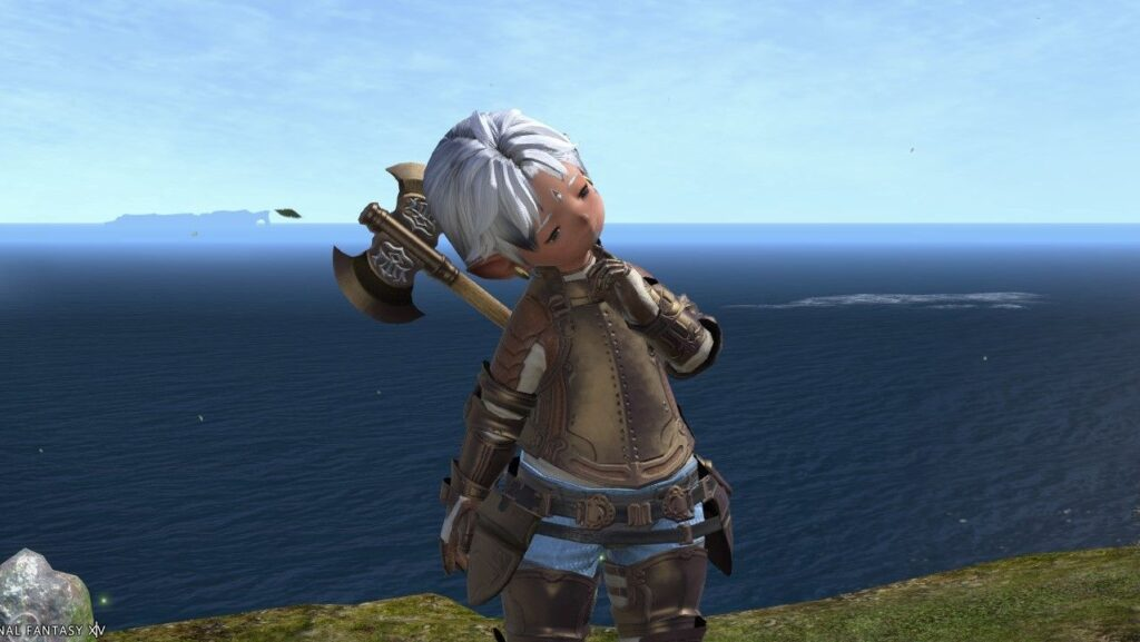 My Lalafell Thinking - As I have to each day - do I blog or not?