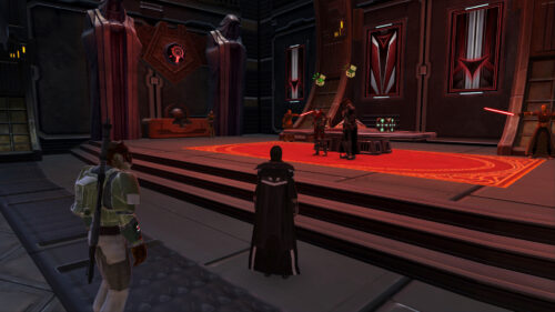The Dark Side Vendors together on Fleet in SWTOR