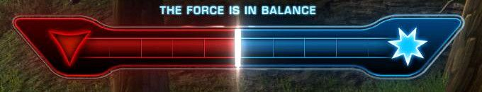 The Force is sometimes in balance in SWTOR!