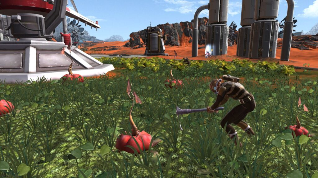 A Farmer on Ossus (SWTOR) Hard at Work