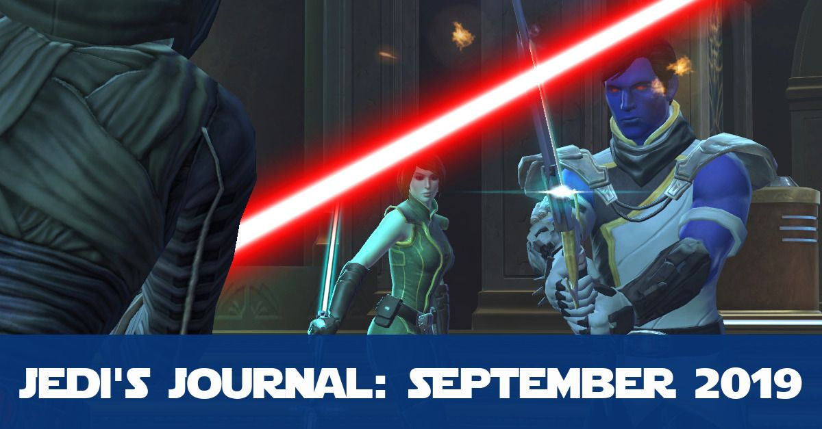 Edition 3 of Jedi's Journal - September 2019