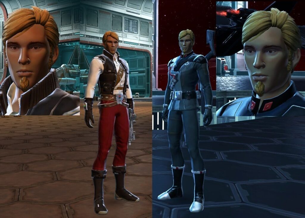 How Characters Look in Republic and Imperial Character Creator