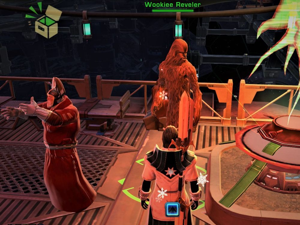 How Do You Hug a Wookiee during SWTOR's Life Day Event?