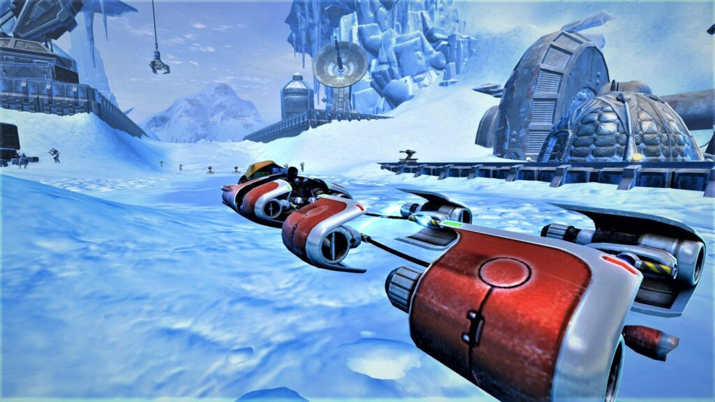 SWTOR J0-1Y Mount, only available during Life Day